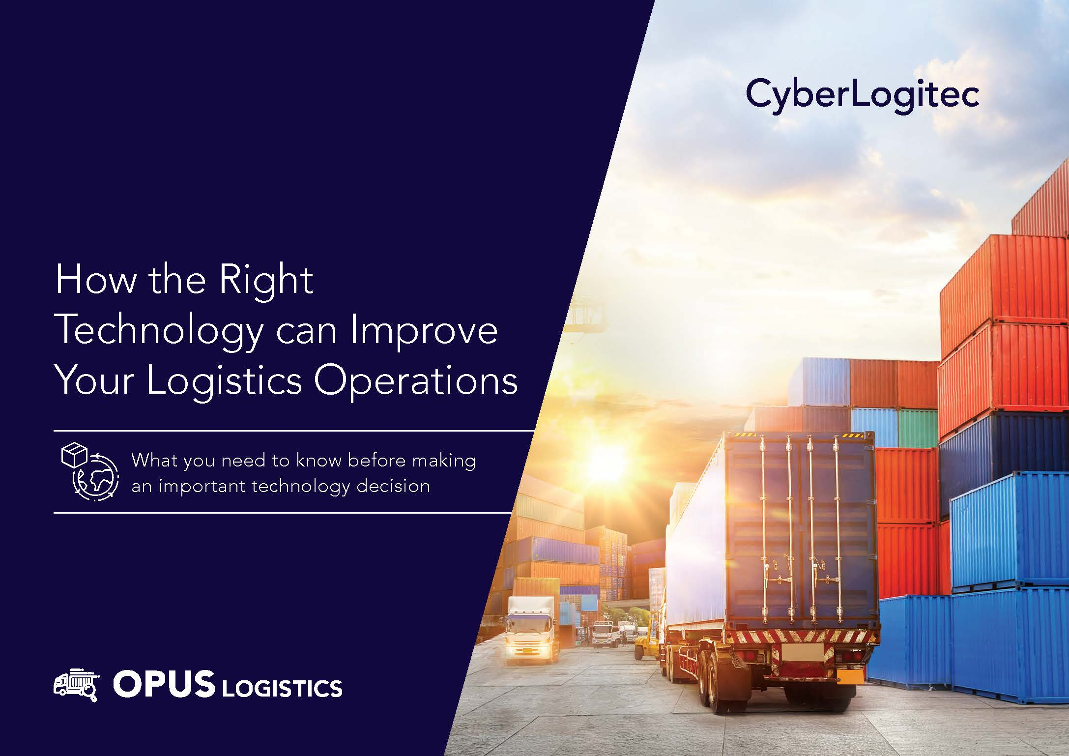 eBook_How the Right Technology Can Improve your Logistics Operations_COVER